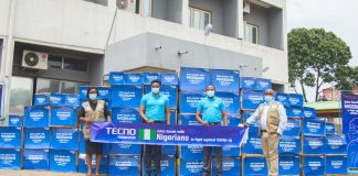 TECNO Foundation Supports Health Care Workers In Fight Against COVID-19, Donates Medical Supplies To NCDC-marketingspace.com.ng