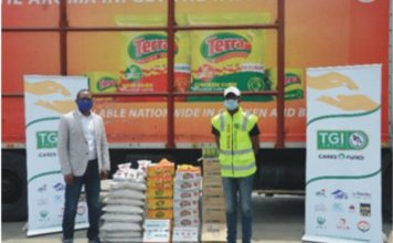 COVID-19: TGI Group Employees Provide 1million Free Meals To Vulnerable Nigerians-marketingspace.com.ng