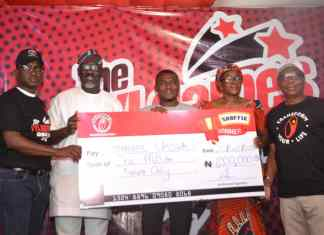 Lagos Based Business Man Wins TYLgames N1million Grand Prize, Brand Promises Transparency-marketingspace.com.ng