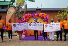 Cadbury Nigeria rewards Bourn Factor Season 2 Winners-marketingspace.com.ng