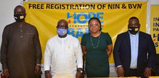 Hope Psbank Begins Free NIN Registration For Nigerians Across Offices Nationwide-marketingspace.com.ng