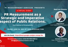 P+ Measurement Services Hosts 17th Edition Of Evaluate PR-marketingspace.com.ng
