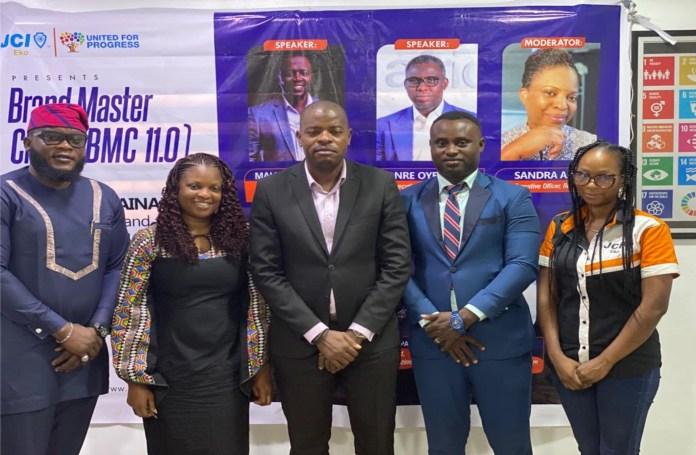 JCI Eko Concludes Brand Master Class 11.0, Promotes Brand Sustainability-marketingspace.com.ng