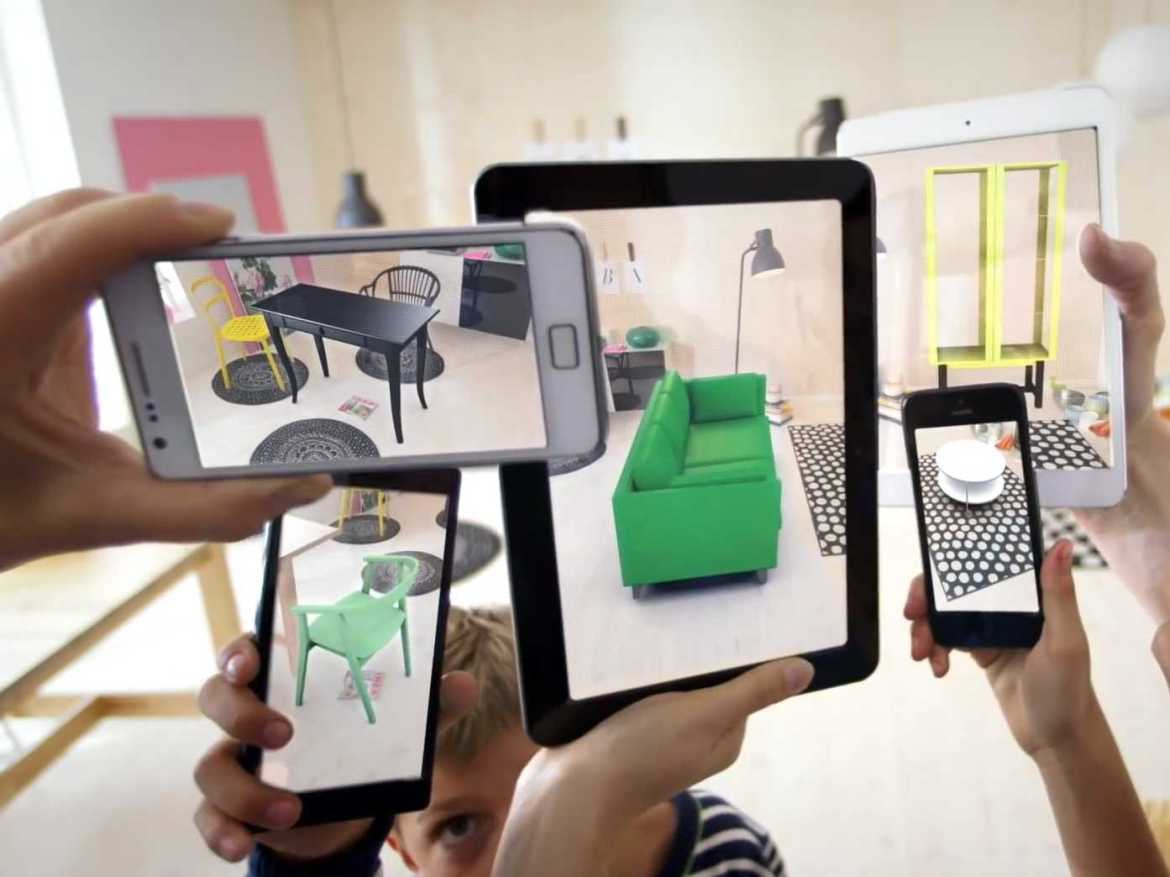 Augmented reality by IKEA