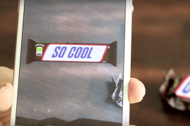 Snickers boosted customer engagement with its augmented reality campaign.