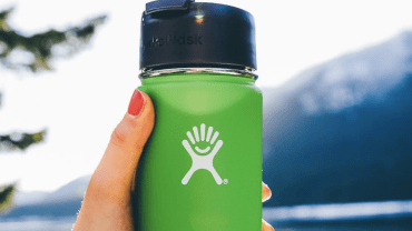 Hydro-flask relies heavily on consumer generated content for its product branding