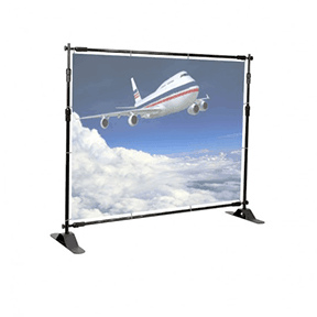 economy backdrop stand