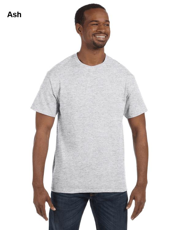 Jerzees Adult 5.6 oz. DRI-POWER ACTIVE T-Shirt Ash