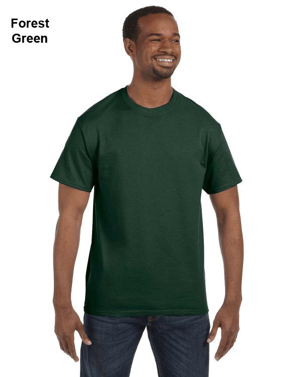 Jerzees Adult 5.6 oz. DRI-POWER ACTIVE T-Shirt Forest Green