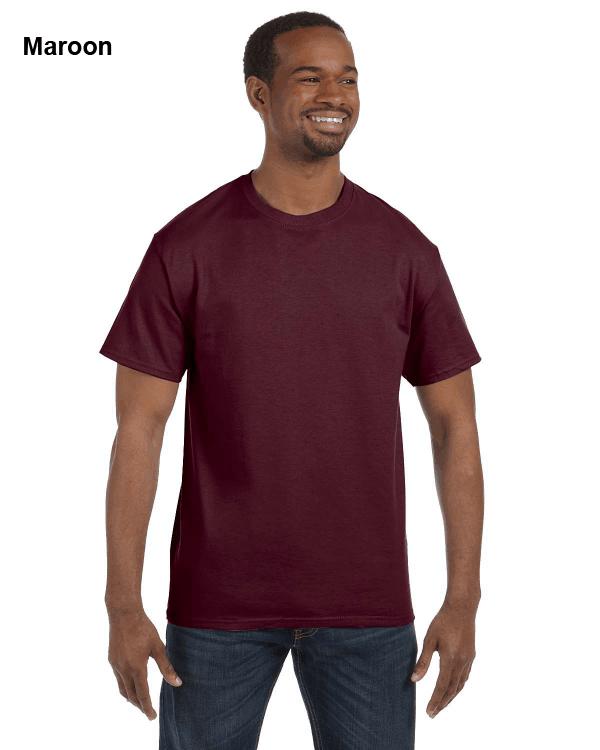 Jerzees Adult 5.6 oz. DRI-POWER ACTIVE T-Shirt Maroon