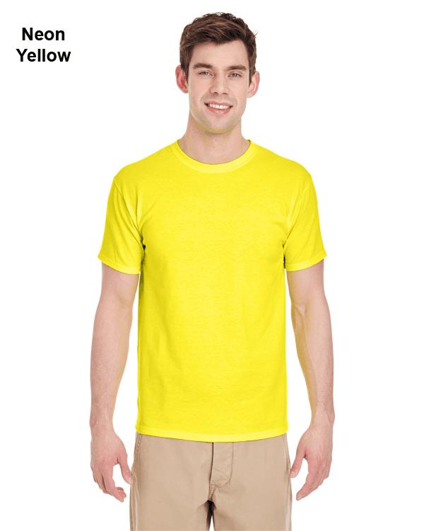 Jerzees Adult 5.6 oz. DRI-POWER ACTIVE T-Shirt Neon Yellow