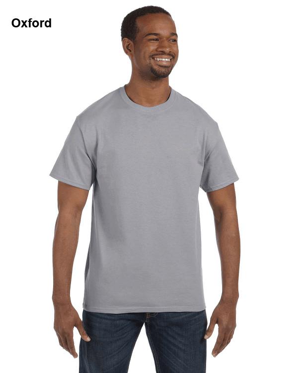 Jerzees Adult 5.6 oz. DRI-POWER ACTIVE T-Shirt Oxford
