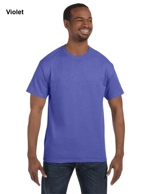 Jerzees Adult 5.6 oz. DRI-POWER ACTIVE T-Shirt Violet