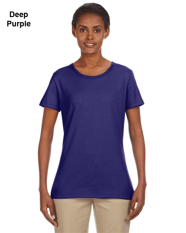 Jerzees Ladies 5.6 oz. DRI-POWER ACTIVE T-Shirt Deep Purple