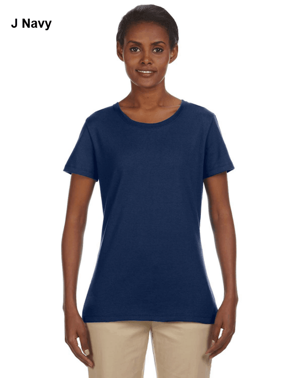 Jerzees Ladies 5.6 oz. DRI-POWER ACTIVE T-Shirt J Navy