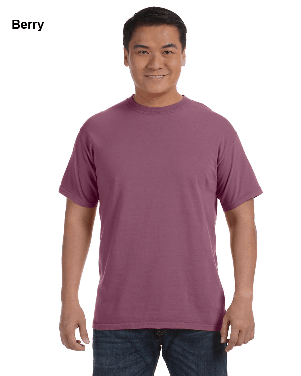 Comfort Colors Adult Heavyweight RS T-Shirt Berry