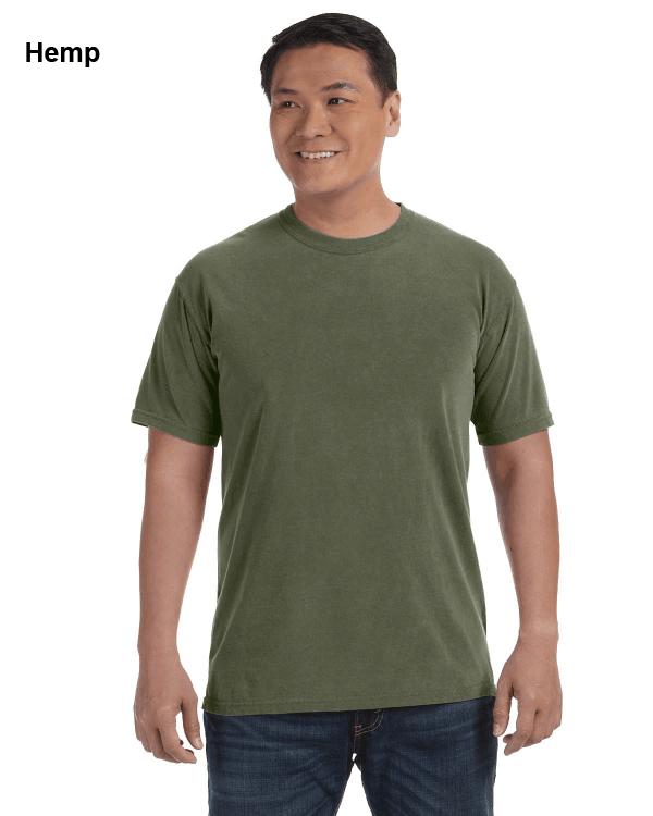 Comfort Colors Adult Heavyweight RS T-Shirt Hemp