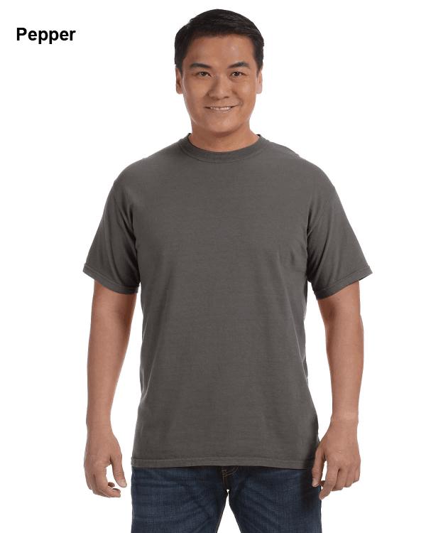 Comfort Colors Adult Heavyweight RS T-Shirt Pepper