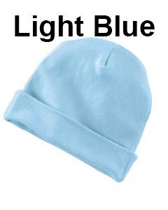 Rabbit Skins Infant Baby Rib Cap Light Blue