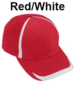 Augusta Drop Ship Adult Change Up Cap Red/White