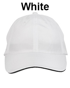 Core 365 Adult Pitch Performance Cap White