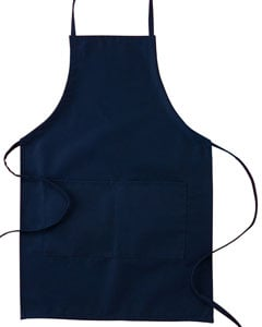 Big Accessories Apron Navy Image