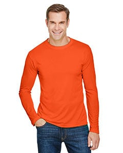 Bayside Unisex 4.5 oz., 100% Polyester Performance Long-Sleeve T-Shirt - MCBA5360 Shirt