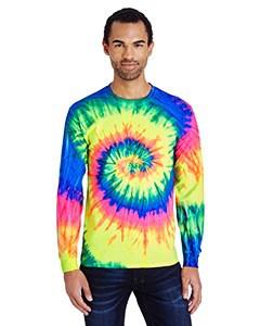Tie-Dye Adult 5.4 oz. 100% Cotton Long-Sleeve T-Shirt - MCCD2000