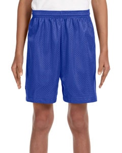 A4 Youth Six Inch Inseam Mesh Short - MCNB5301