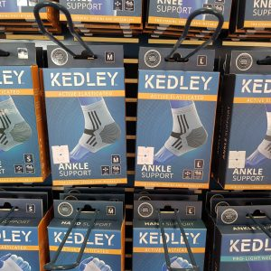 Kedley Active Elasticated Ankle Support