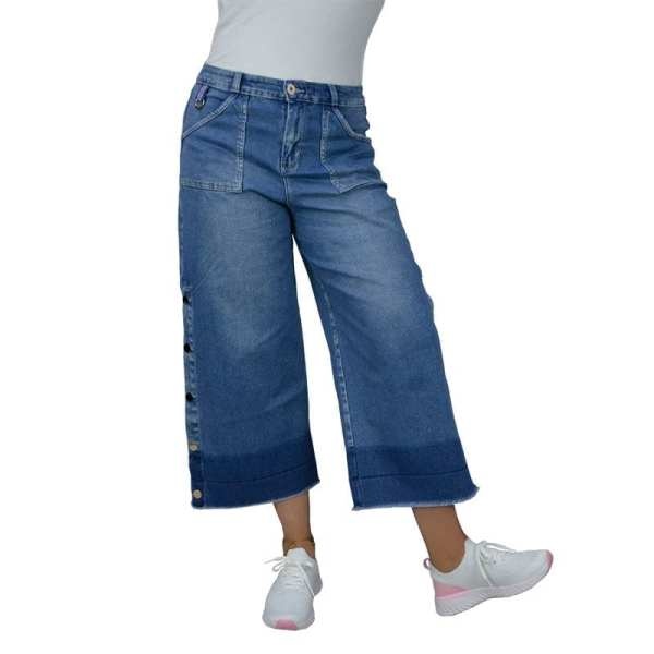 JEAN PARA MUJER CULOTTE NOW FIT