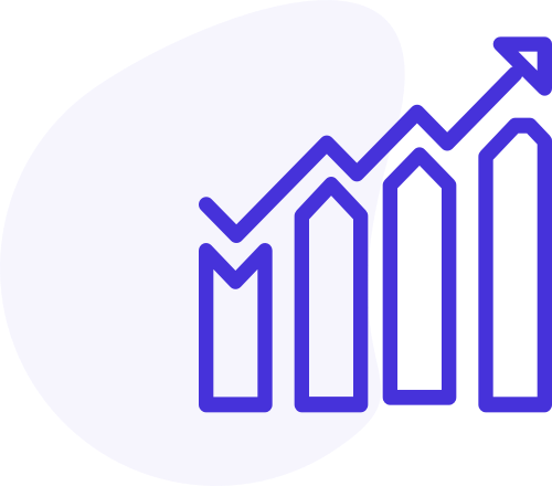 stat growth icon