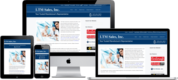 screenshot of LTMSales.com