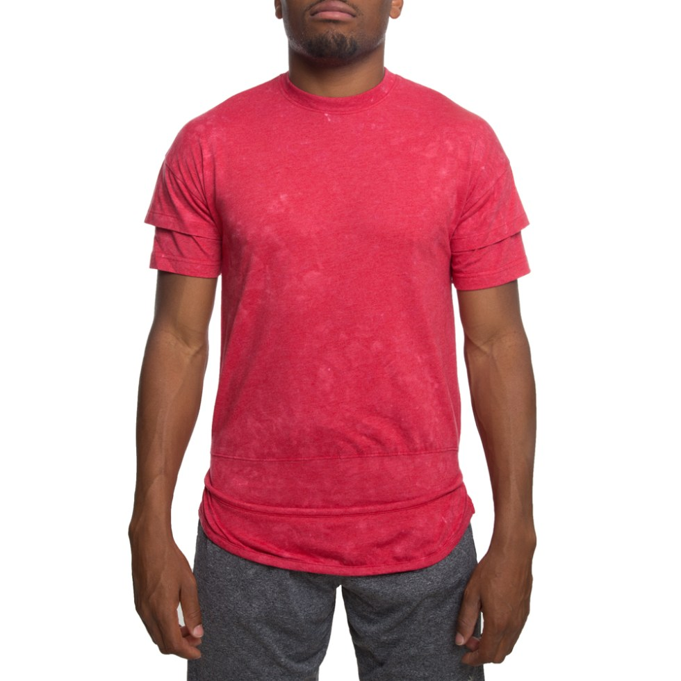 RIPPED AND LAYERED TEE