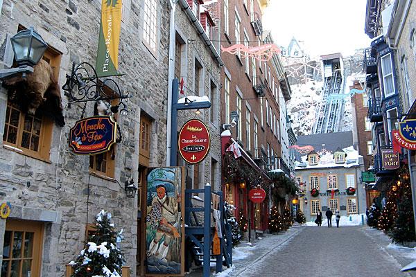 Quebec-City-street-Canada