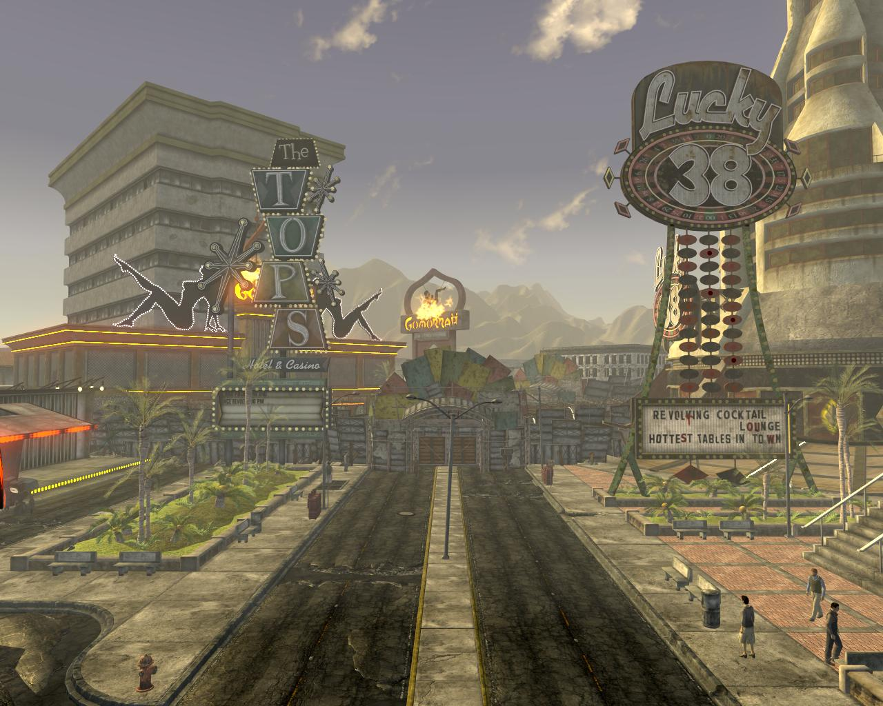 The New Vegas Strip