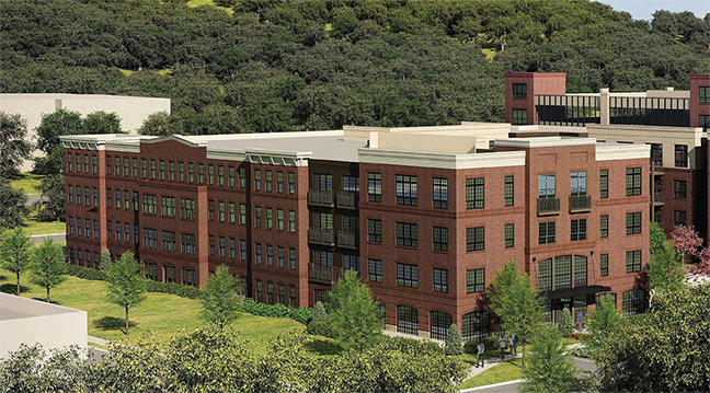 (a rendering of the Saw Mill River project)