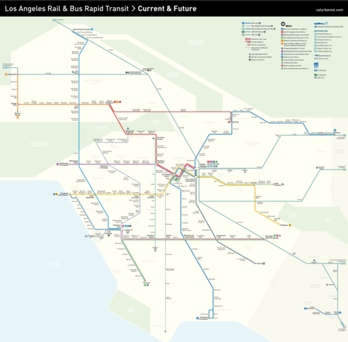 Future+LA+Transit+Map