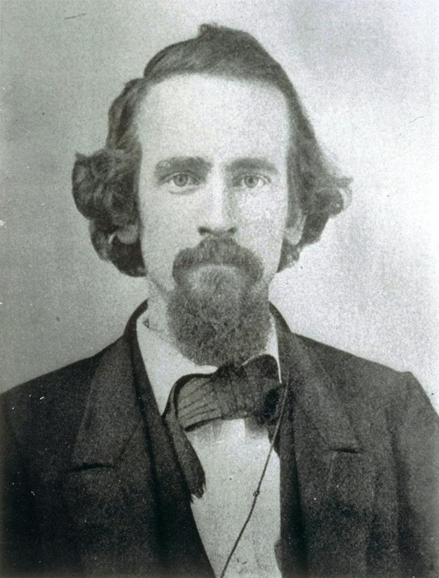 (An early photo of theorist Henry George / wikipedia)