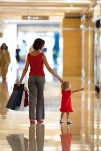 Mystery shopping with kids