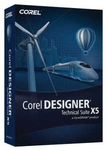 Corel DESIGNER Technical Suite X5 Box Shot