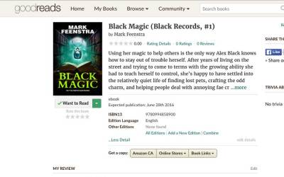 Black Magic is on Goodreads