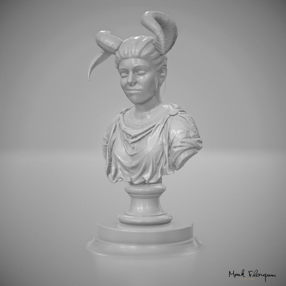 mark-florquin-3d-scanning-scan-photogrammetry-holographer-realistic-3d-Bust Riona