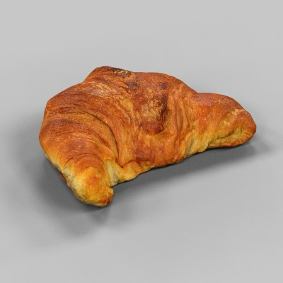 Croissant 3D Model Photogrammetry Mark Florquin