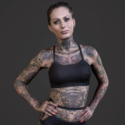 Femke Fatale Tattoo Model