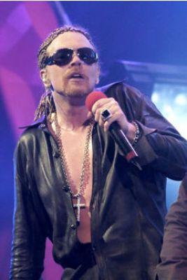 Axl Rose - Cantante dei Guns N' Roses