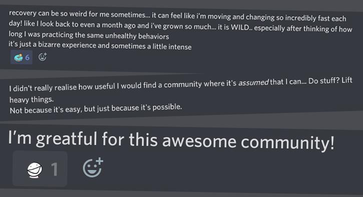 mental illness recovery community Discord