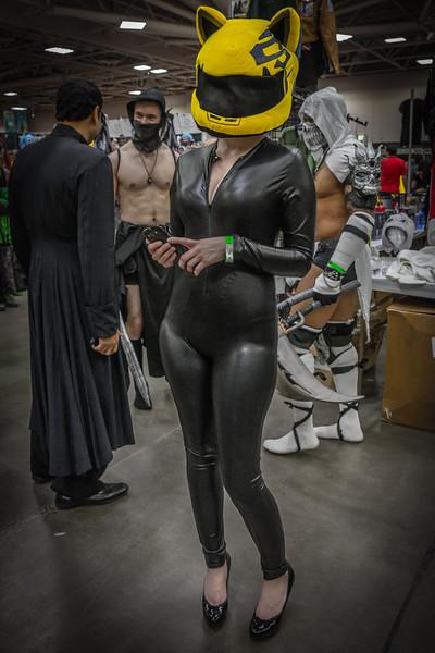 Wizard World Minneapolis Comic Con 2014, girls of comic con, Kitty costume, Comic Con Cosplay