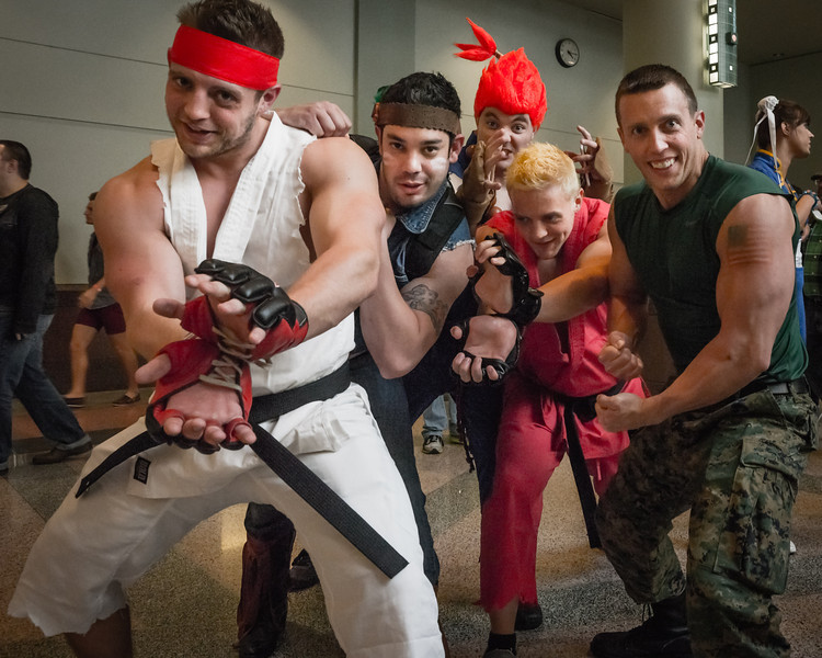 MInneapolis Comic Con 2014, Comic Con Cosplay, Street Fighter costume, Street Fighter Cosplay