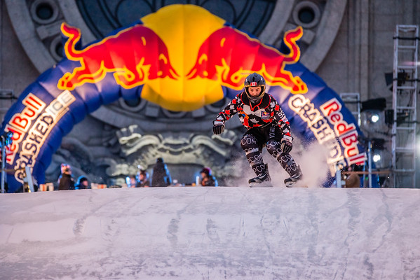 Red Bull Crashed Ice 2015, Cathedral of Saint Paul Crashed Ice, Ice Cross Skater